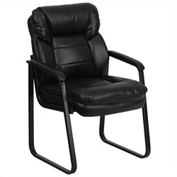 Executive Side Office Guest Chair in Black