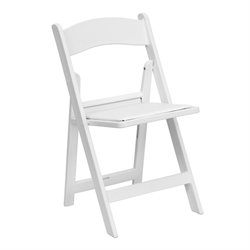 Folding Chair in White