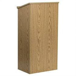 Stand-Up Full Podium in Oak
