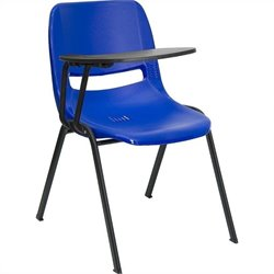 Ergonomic Shell Chair in Blue