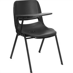 Ergonomic Shell Chair in Black