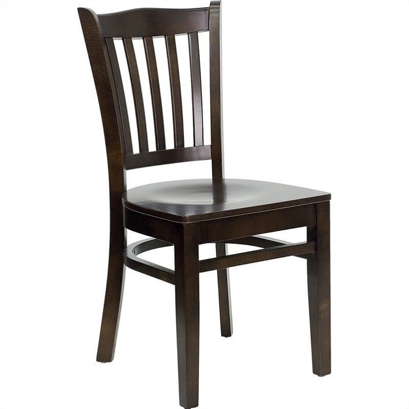 Restaurant Dining Chair in Walnut