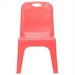 Stackable School Chair in Red