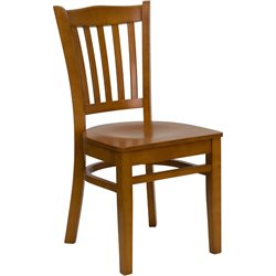 Wood Restaurant Dining Chair in Cherry