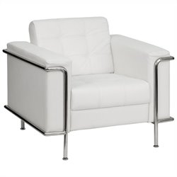 Contemporary Chair in White