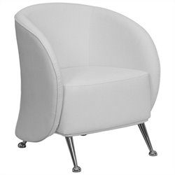 Reception Chair in White