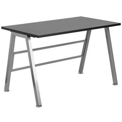 High Profile Desk in Black