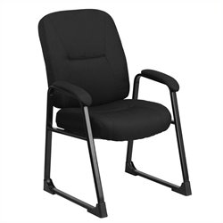 Flash Furniture Hercules Executive Side Office Chair in Black