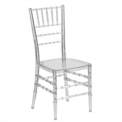 Stacking Dining Chair in Crystal Ice