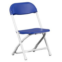 Kids Plastic Folding Chair in Blue