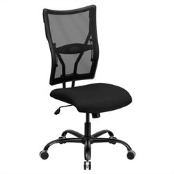 Flash Furniture Hercules Mesh Office Chair in Black