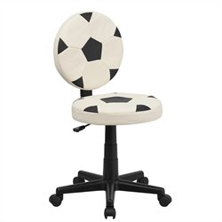 Task Office Chair in Black and White