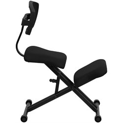 Ergonomic Kneeling Office Chair in Black