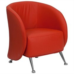 Reception Chair in Red