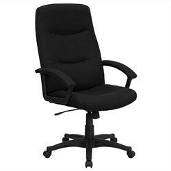 Swivel Office Chair in Black