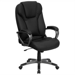 High Back Comfortable Office Chair in Black