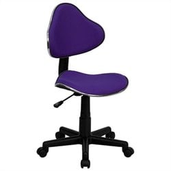 Modern Ergonomic Task Office Chair in Purple
