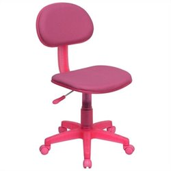 Ergonomic Task Office Chair in Pink