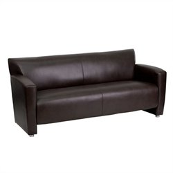 Leather Sofa in Brown