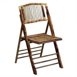American Champion Bamboo Folding Chair in Brown