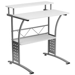 Clifton Computer Desk in White