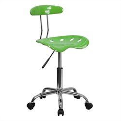 Computer Task Office Chair in Lime