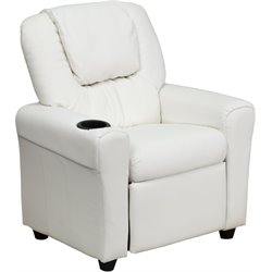 Kids Recliner in White