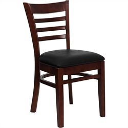 Ladder Back Dining Chair in Mahogany