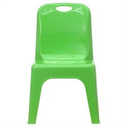 Stackable School Chair in Green