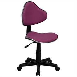 Modern Ergonomic Task Office Chair in Lavender