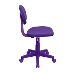 Ergonomic Task Office Chair in Purple
