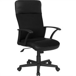 High Back Mesh Swivel Office Chair in Black