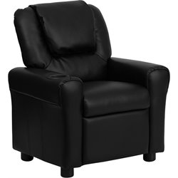 Kids Recliner in Black