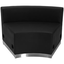 Concave Steel Base Chair in Black