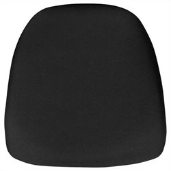 Hard Chiavari Chair Cushion in Black