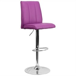 Adjustable Bar Stool in Purple