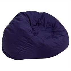 Small Kids Bean Bag Chair in Navy Blue