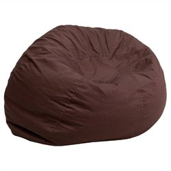 Small Kids Bean Bag Chair in Brown