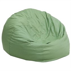 Small Kids Bean Bag Chair in Green