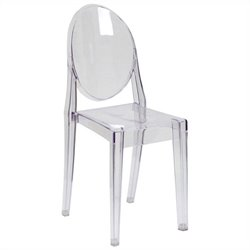 Dining Chair in Transparent Crystal