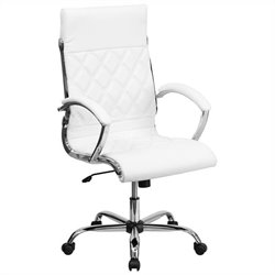 Designer Executive Office Chair in White