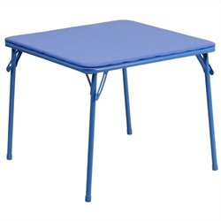 Kids Folding Table in Blue