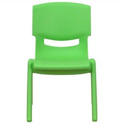 Stackable Chair in Green