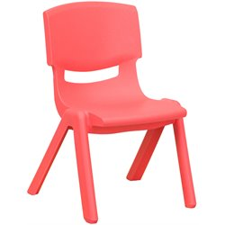 Stackable Chair in Red