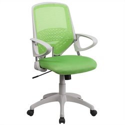 Mid-Back Office Chair in Green