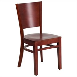 Restaurant Dining Chair in Mahogany