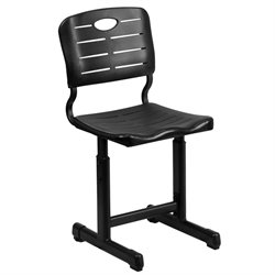 Student Office Chair in Black