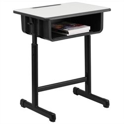 Student Desk in Black and Gray
