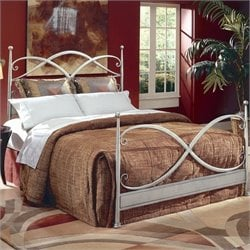 Largo Furniture Cutlass Bed in German Silver