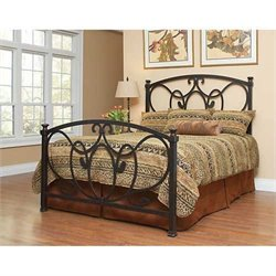 Largo Furniture Olivia Bed in Antique Bronze